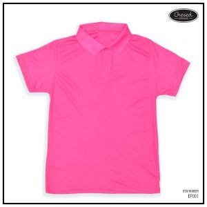 <b>BASIC POLO SHIRT</b> <br>BP001 | D. Pink