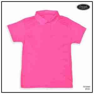 <b>BASIC POLO SHIRT</b> <br>BP001 | D. Pink