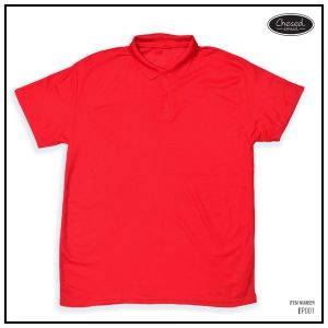 <b>BASIC POLO SHIRT</b> <br>BP001 | Red
