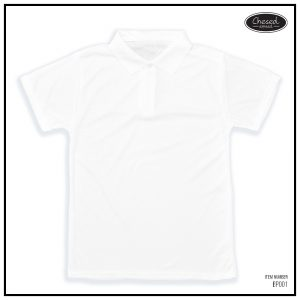 <b>BASIC POLO SHIRT</b> <br>BP001 | White