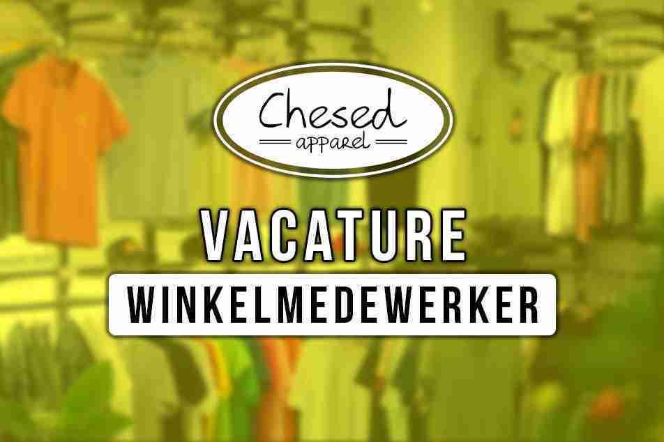 VACATURE WINKELMEDEWERKER